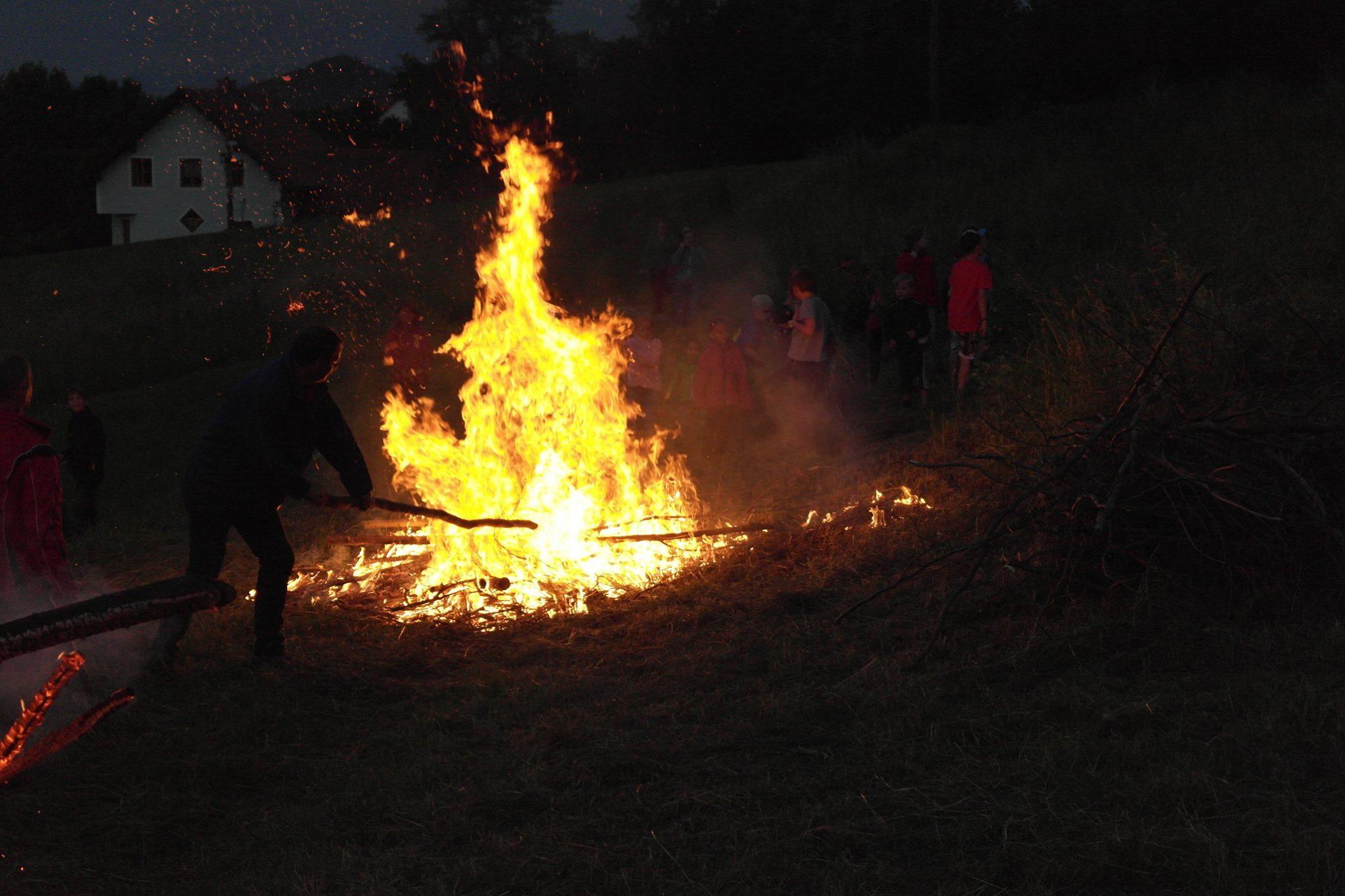magie des feuers
